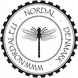 Adventskerze von Nordal 1234 in Weiß und Gold 26 cm