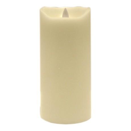 LED Echtwachs-Kerze Sompex batteriebetrieben elfenbein weiß