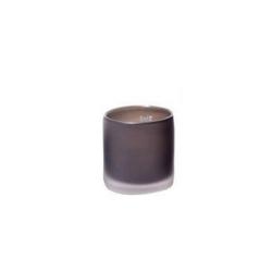 Dutz Cylinder Smoke Sandblasted mattiertes Glas H 10 cm D 10 cm