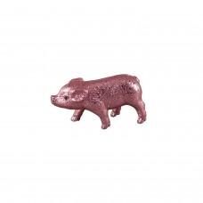 Glitzer Schweinchen Klein Rosa - zauberhafte Dekofigur Schwein in rosafarbenem Glitzer