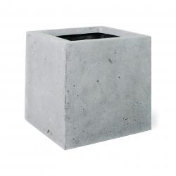 Pflanzgefäß Square grau