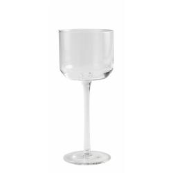 Retro Weißweinglas von NORDAL klare Form
