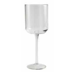 Retro Rotweinglas von NORDAL klare Form