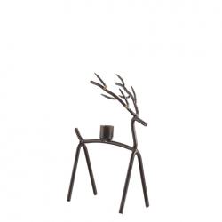 Oh DEER S Kerzenhalter in Rentier-Form modern aus Metall