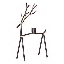 Oh DEER M Kerzenhalter in Rentier-Form modern aus Metall