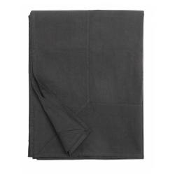Tischdecke in dunkelgrau anthrazit von NORDAL 140x270 cm 100 % Baumwolle Maschinenwäsche 40 Grad