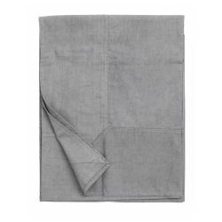 Tischdecke in hellem Grau von NORDAL 140x270 cm 100 % Baumwolle Maschinenwäsche 40 Grad