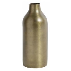 Vase von NORDAL bronzefarben H 23 cm schmale Flaschenform
