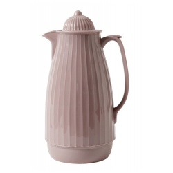 Thermoskanne im Retro-Design, 1 Liter, Rose Altrosa