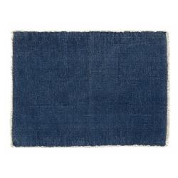 Tischset Platzdecke von Nordal Baumwolle dunkelblau 33x48 cm