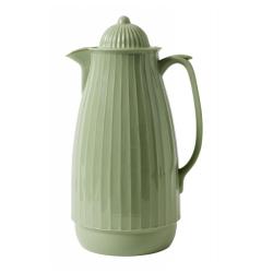 Thermoskanne im Retro-Design, 1 Liter, Mintgrün, grün