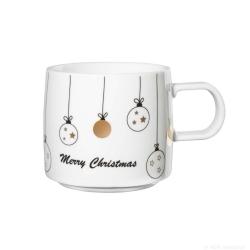 Henkelbecher Motiv Weihnachtskugeln Weihnachten von Asa Selection