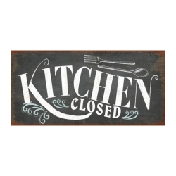 Magnet Kitchen closed Kühlschrankmagnet 5x10 cm