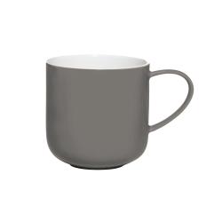 Henkelbecher grau innen weiß von Asa Selection 0,4 L