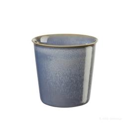 Becher Café Lungo blau Landhaus-Stil von Asa Selection 0,25 L