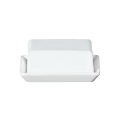 Butterdose aus weißem Porzellan von Asa Selection 16,5x13,5x7 cm