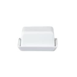 Butterdose aus weißem Porzellan von Asa Selection 11x8,5x6 cm