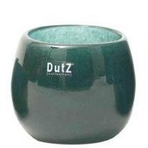 Dutz Pot Pine Dunkelgrün H 8,5 cm D 10 cm elegantes, tiefes Grün