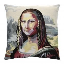 Kissen Mona Lisa 45x45 cm abnehmbarer Bezug 30 Grad waschbar