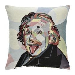 Kissen Albert Einstein 45x45 cm abnehmbarer Bezug 30 Grad waschbar