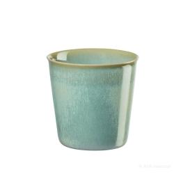 Becher Café Lungo grün Landhaus-Stil von Asa Selection 0,25 L