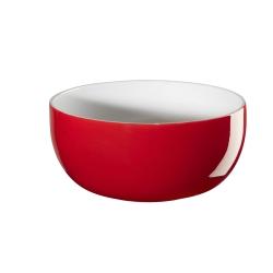 Müslischale rot innen weiß von Asa Selection D 13,5 cm H 6,5 cm