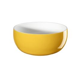 Müslischale gelb innen weiß von Asa Selection D 13,5 cm H 6,5 cm