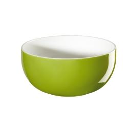 Müslischale kiwi grün innen weiß von Asa Selection D 13,5 cm H 6,5 cm