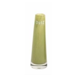 Dutz Vase moss grün 15 cm kleine Glasvase Solifleur