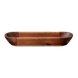 Akazienholz ovale Schale von ASA Selection - aus massivem Holz