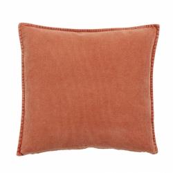 Kissen aus Cord 48x48 cm von Nordal pale orange blass orange
