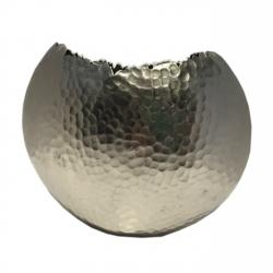 Vase Cut Designervase aus Aluminium 20 cm