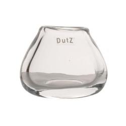 Dutz Vase Oval clear H 11 cm D 11x13 cm durchsichtig organische Form