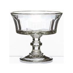 Champagnerschale von La Rochere Französisches Glas Dessertschale
