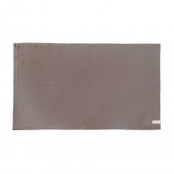 Badteppich von Walra mit schönem Design 60x100 cm taupe
