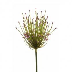 Kunstblume Allium langstielig lila 100 cm