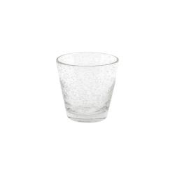 Dutz Glas Conic Clear Bubble H 8,5 D 9 Trinkglas mit Lufteinschlüssen