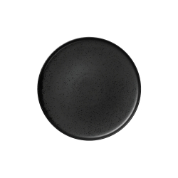 Dessertteller kuro schwarz von Asa Selection D 21 cm H 1,5 cm