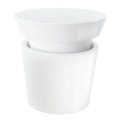 Gewürz-/Kräutermühle von Asa Selection D 8,9 cm, H 8 cm, 0,1 L Porzellan weiß