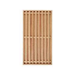 Holz Brotschneidebrett von ASA Selection - aus massivem Holz Naturfarben