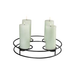 Kerzenständer rund multifunktional von Asa Selection für 4 Kerzen Adventskerzenständer