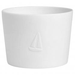 Living Meerlicht Segelboot - Windlicht von Raeder D 8 cm H 6 cm