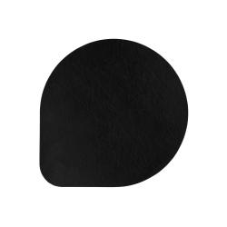 Tischset von Asa aus Lederimitat 36,5x36,5 cm Schwarz