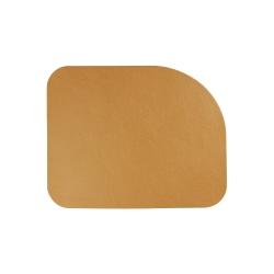 Tischset von Asa aus Lederimitat 46x36,5 cm Curry; Gelb