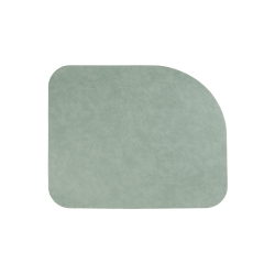 Tischset von Asa aus Lederimitat 46x36,5 cm Mint, Spearmint