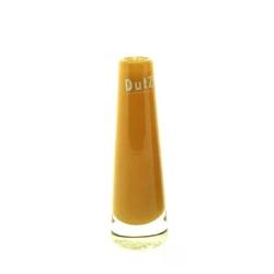 Dutz Vase Solifleur Goldtopas 15 cm kleine Glasvase Solifleur