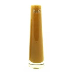 Dutz Vase Solifleur Goldtopas 21 cm kleine Glasvase Solifleur