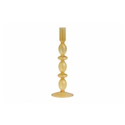 CHIROS Kerzenhalter aus Glas amber von NORDAL