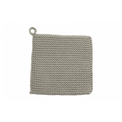 MIRA Topflappen grau von NORDAL 25x25 cm