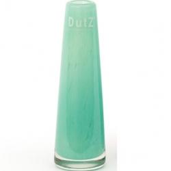 Dutz Vase türkis kleine Glasvase 15 cm